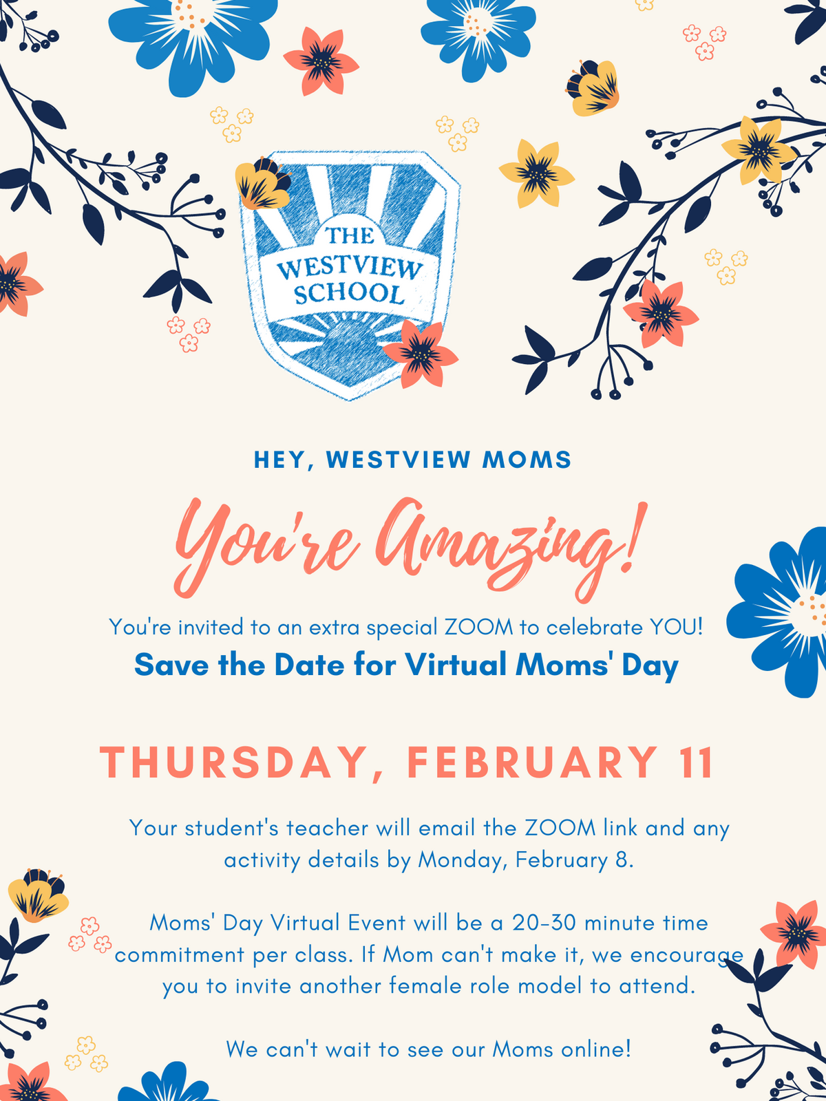 Moms' Day (Virtual)