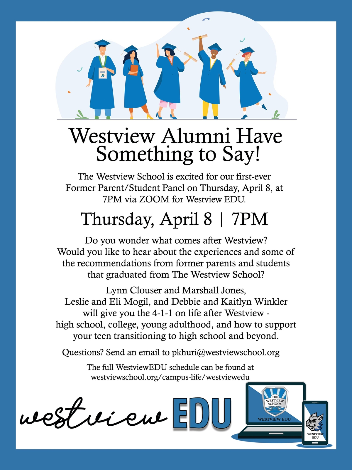 WestivewEDU: Westview Alumni Have Something to Say