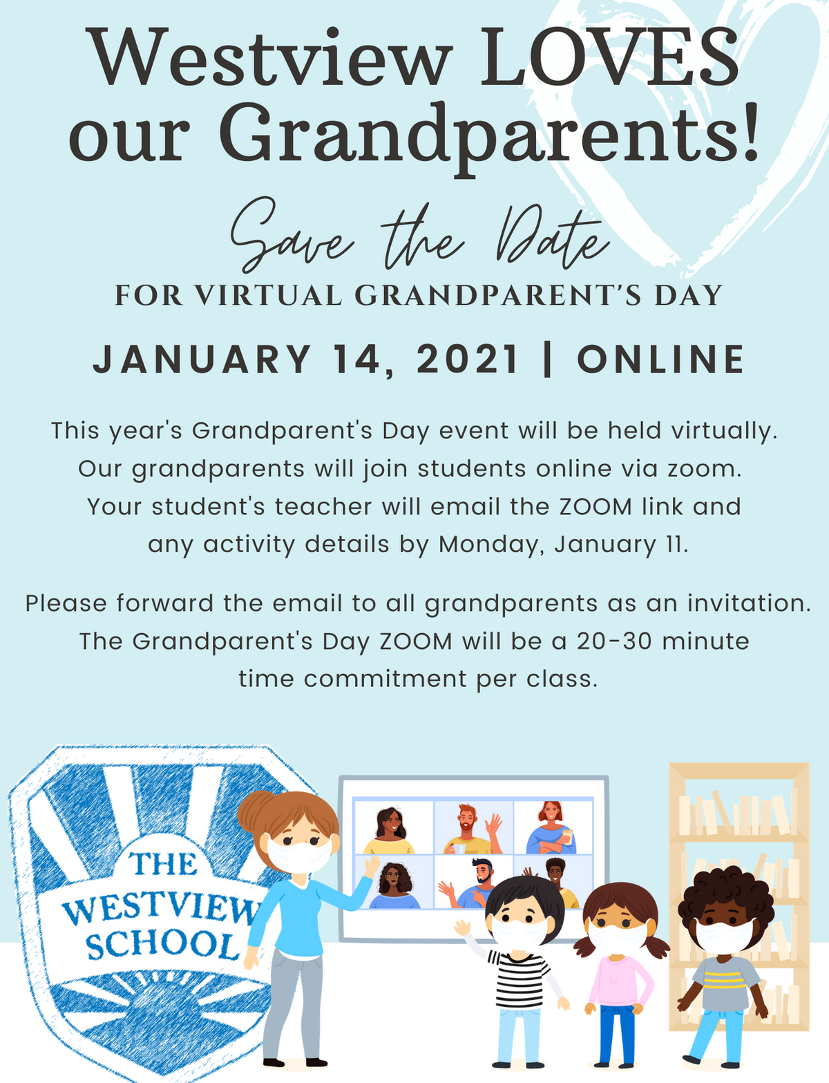 Virtual Grandparent's Day