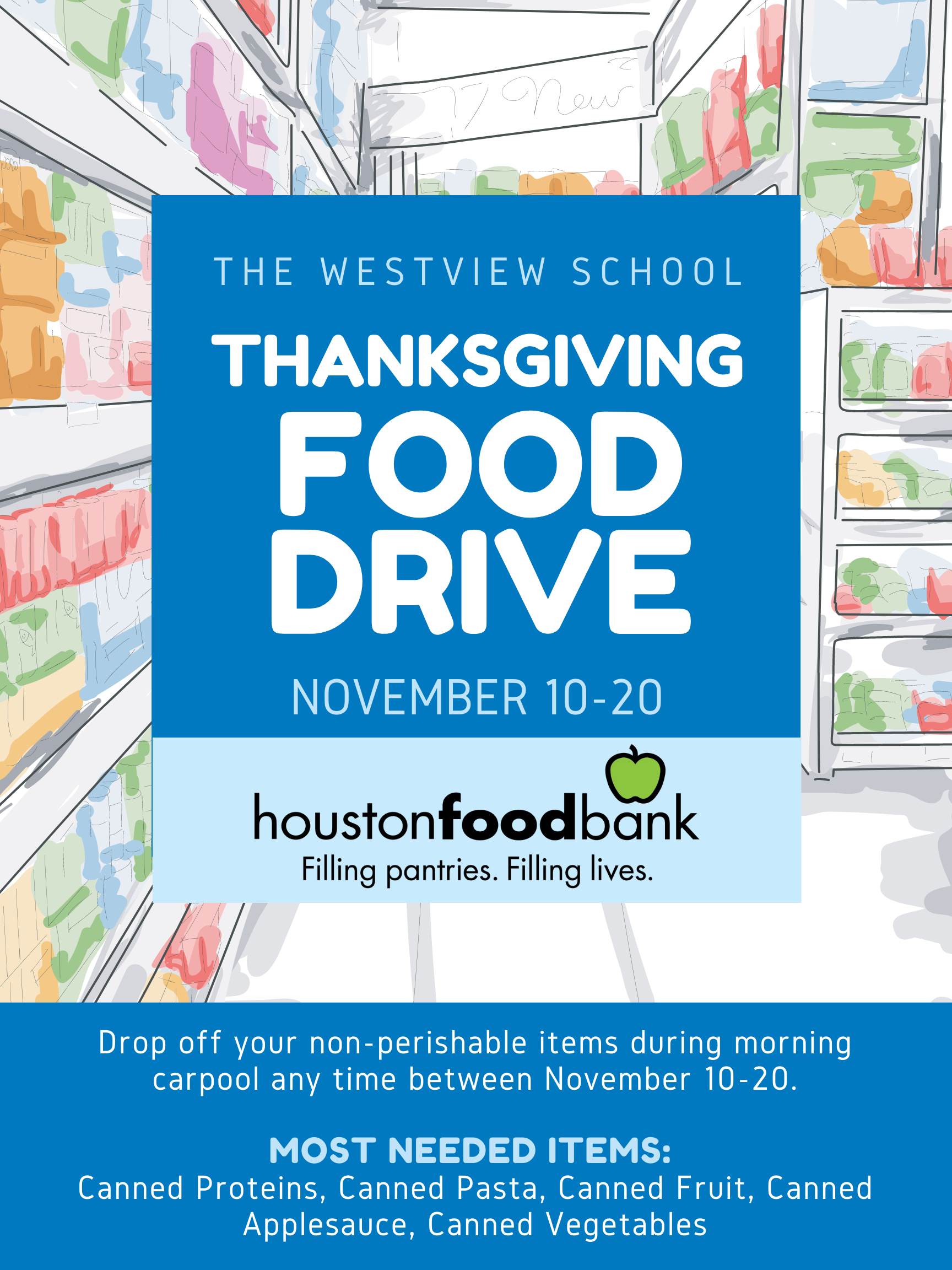 Westview Thanksgiving Food Drive